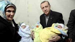 Erdogan dhe familha