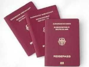 pasaporta gjermane