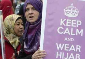 kanada proteste per veshje islame
