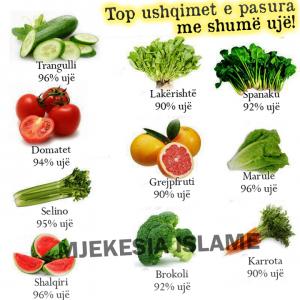top ushqimet