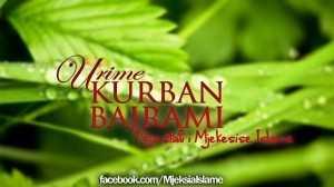 urime kurban Bajrami mjekesia islame
