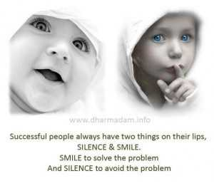 buzeqeshja dhe heshtja