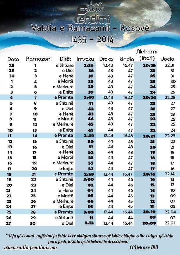 Vaktia E Ramazanit 2015 Ne Zvicer   Search Results   Calendar 2015 ...