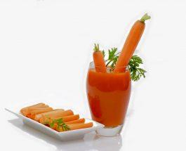Lëngu i karrotës i pastër dhe i kombinuar me lëngun e limonit ose portokallit