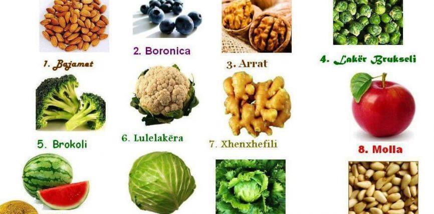 12 Ushqimet e trurit