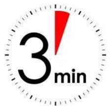 Ndrysho jetën në më pak se tre minuta