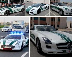Dubai, supermakinat e patrullës së policisë