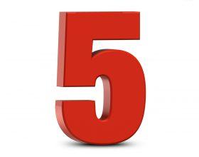 Pesë gjëra