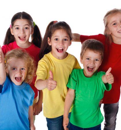 Fëmijët janë pesë llojesh