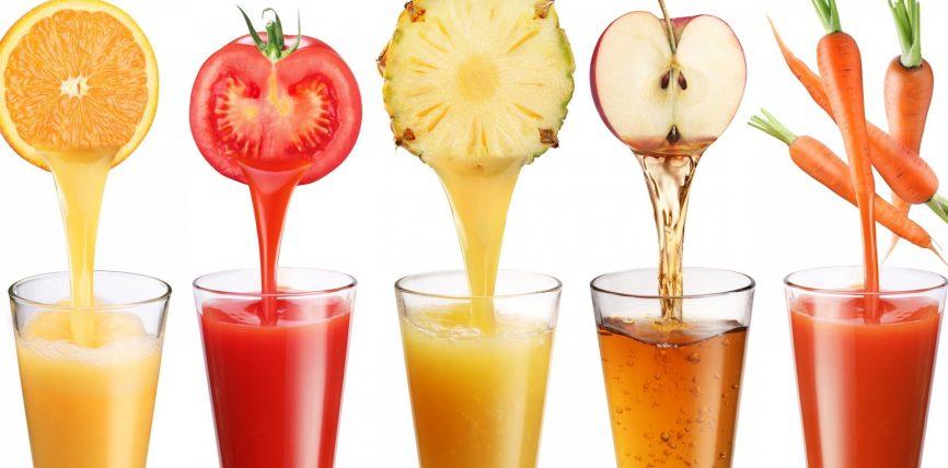 Niseni mëngjesin me lëng frutash
