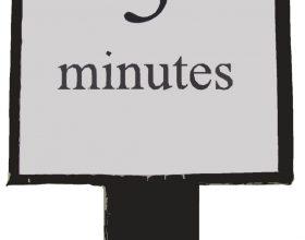 Pesë minuta për të qenë pozitiv
