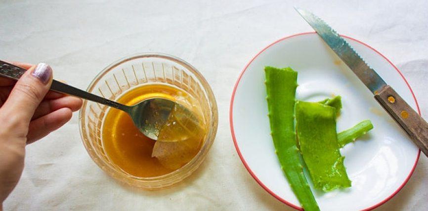 Largimi i cistave nga vezorët me mjalt dhe aloe vera