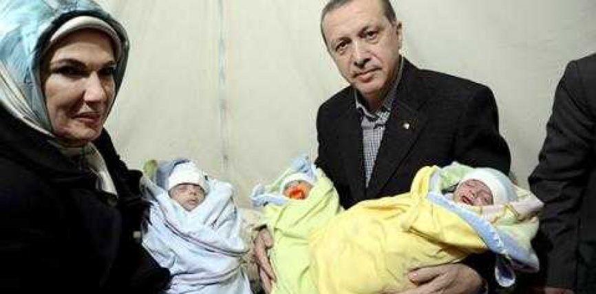 Edhe Erdogan apelon për shtim të natalitetit: Lindni minimum 3 fëmijë