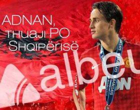 """Adnan Januzaj, thuaji """"Po"""" Shqipërisë"""