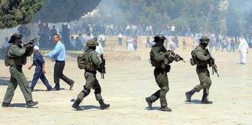 Përleshje në Al Aksa