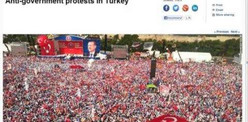 CNN mashtron opinionin publik lidhur me trazirat në Turqi