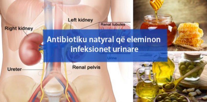 Antibiotiku natyral që eleminon infeksionet urinare