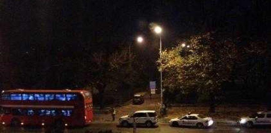 Incident në autobusin 65, në afërsi të Bit Pazarit