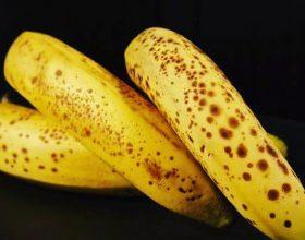 Banane plotësisht e pjekur!