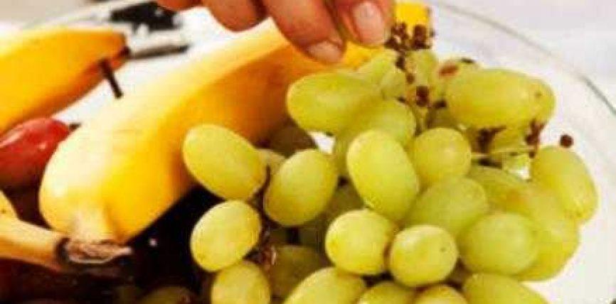 Bananet dhe rrushi qetësojne pulsin e shpejtuar