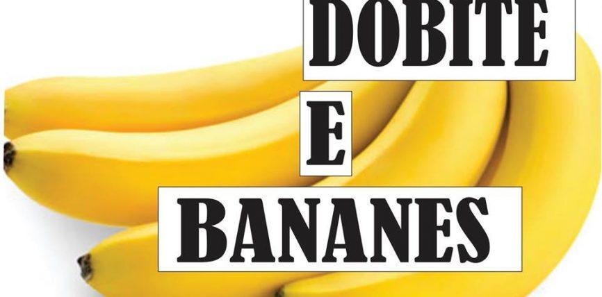 Dobitë e bananes