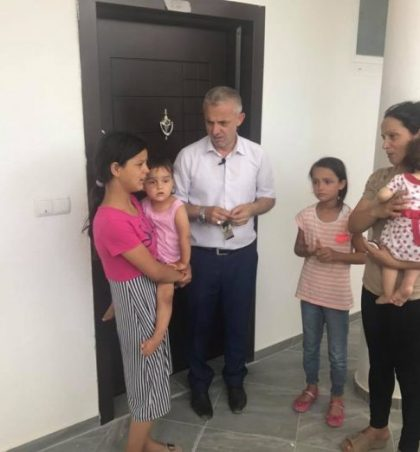 Familja Fejzullahu Natën e Bajramit bëhet me banesë të re