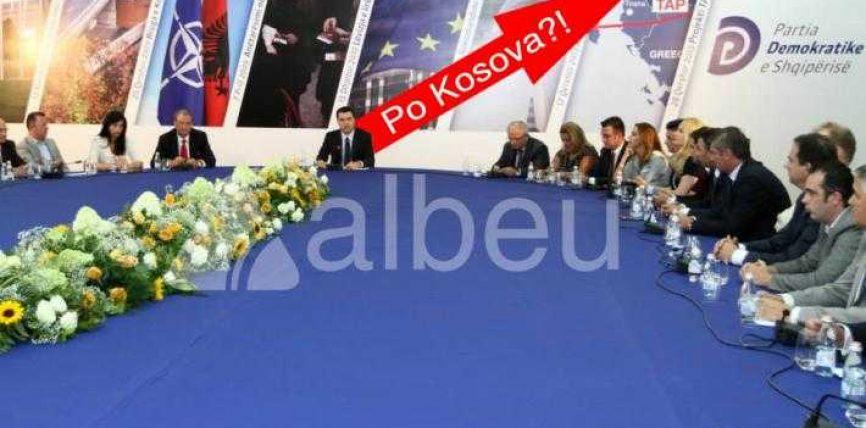 Basha e harron Kosovën në Serbi (FOTO LAJM)
