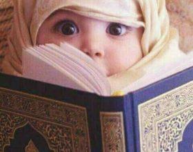 Reagimi interesant i foshnjes ndaj Kur'anit (Video)