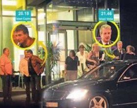 Shefi i policisë serbe, takohet me biznesmenin shqiptar, Qazim Osmanin! /foto/
