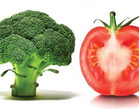 Kombinimi i brokolit dhe domates