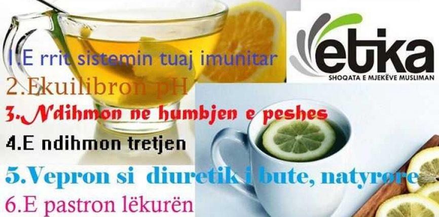 7-te arsye pse ju duhet te pini uje te ngrohte dhe limon