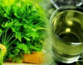 Çaji nga majdanozi, ilaç për shumë sëmundje