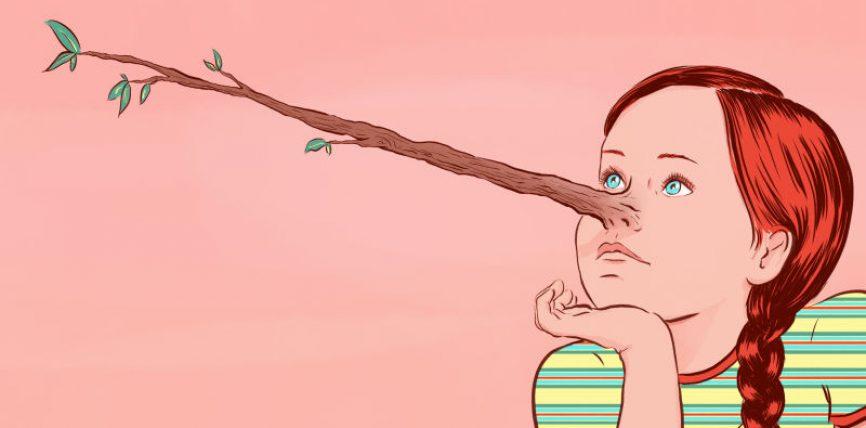 Ky fëmijë bëhet mjeshtër në gënjeshtër familjarët pyesin njëri-tjetrin se nga ka ngjarë kaq gënjeshtarë!
