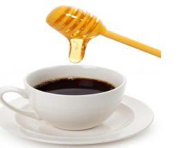 Kafe e mjaltë për kollën
