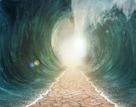 Tregohet se kur Allahu mbyti faraonin dhe shpëtoi Musain a.s, Musai tha: