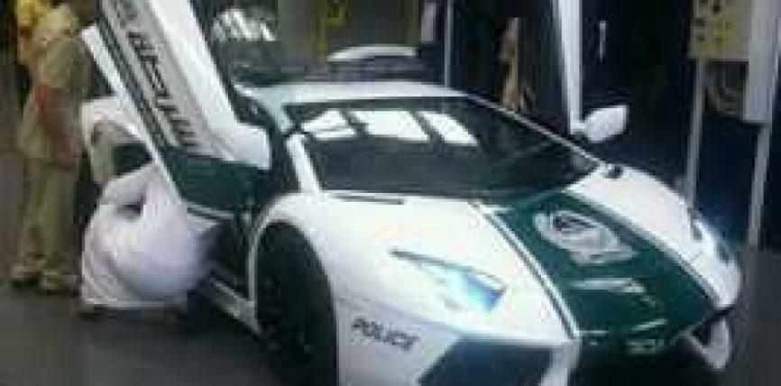 Policia ne Dubai patrullon me Lamborghini