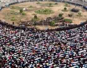 Egjipt, namazi i Bajramit në Sheshin Tahrir