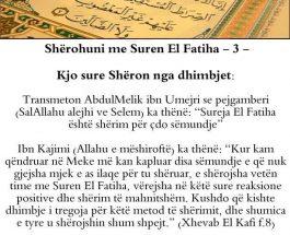 El Fatiha shërim