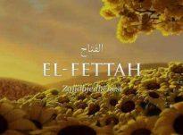 Një nga emrat e Allahut është : El-Fettah [Ai që u jep zgjidhje të gjitha halleve]