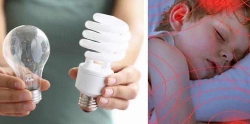 Rreziqet shëndetësore që mund t'i keni nga llampat elektrike