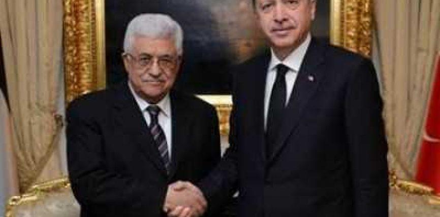 Kryeministri Erdoan takohet me Kryetarin e shtetit të Palestinës Abbas