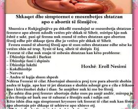 Sihri i Abortit apo mosmbejtjes shtatzane.