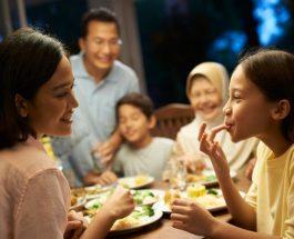 Ja pse prindërit duhet të hanë me fëmijët në shtëpi!