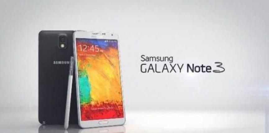 Samsung shet 5 milionë Galaxy Note 3