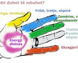 Fuqia shëruese e duarve tuaja