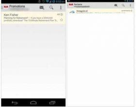 Gmail për Android së shpejti me reklama