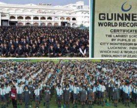 E dini sa nxënës ka shkolla më e madhe në botë?