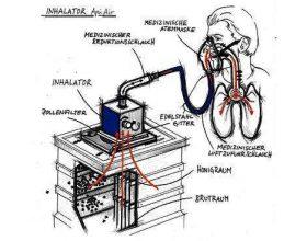 Inhalimi në zhgjua bletësh  (Api aerosol)