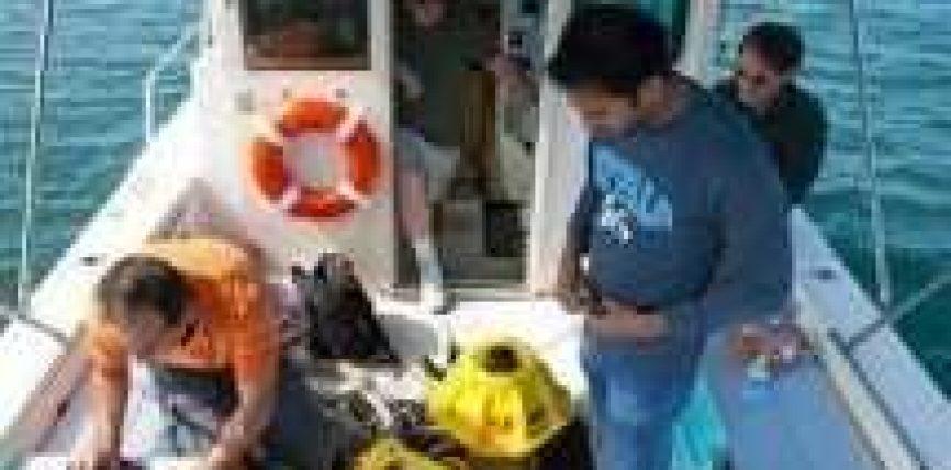 Internet në det, testohet sinjali nën ujë