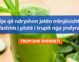 Pije që ndryshon jetën rrënjësisht: Pastrim i plotë i trupit nga yndyra!